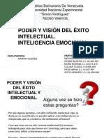 PODER Y VISIÓN DEL EXITO DE LA INTELIGENCIA EMOCIONAL