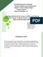 Presentación EL PAISAJISMO (Proyecto)