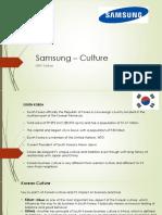 Samsung – Culture