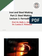 1. Lecture 1 Ferroalloys