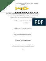 RELACION QUE EXISTE ENTRE  LA ESTRUCTURA Y LOS FORMATOS DE PRESENTACION  DEL ESTADO DE SITUACION FINANCIERA.docx