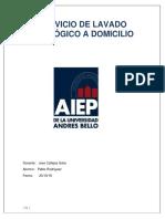 SERVICIO DE LAVADO ECOLÓGICO A DOMICILIO parte 1
