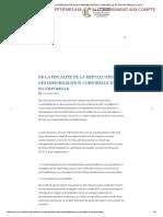 De La Fiscalite de La Reevaluation Des Immobilisation Corporelle Et Incorporelle _ Cncc