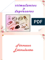 Estimulantes y depresores SNC
