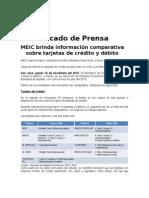 CP- Estudio Comparativo de Tarjetas 18 Nov 2010