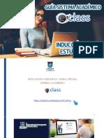 Guía de Inducción Para Estudiantes Sistema E-class