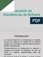 Evaluacion de Arquitecturas I