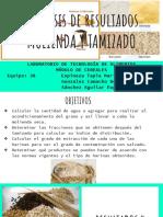 Análisis de Resultados MOLIENDA Y TAMIZADO (1)