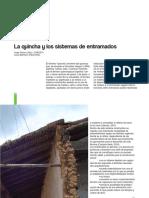 La Quincha y los sistemas de entramado