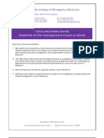 CEM4681 CEC Guideline for the Management of Pain in Adults June 2010 Rev1[1]