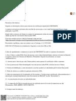 documento - orientações emissão