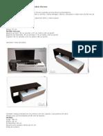 Mueble Para TV y Multimedia Modelo Cherson