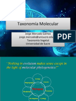 09 - Taxonomía Molecular (1)