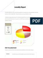 DISC Personality Test Result - Free DISC Types Test Online at 123test.com