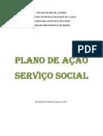 Plano de açao Seviço social