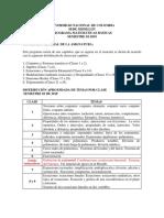 Temas de matemáticas básicas Universidad Nacional