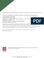 Durkheim y El Organicismo