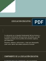 legislacion educativa