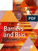 Barriers and Biases