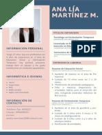 Ana Lía Martínez M. Cv