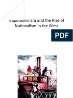 9 Napoleonic Era and the Rise of Nationalism in the West