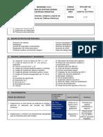 PETS-IMP-101 Mantenimiento, Limpieza y Ajuste de Pernería de Los Tableros Eléctricos