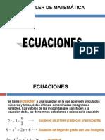 CLASE  - ECUACIONES (2019) - ARQ.pdf