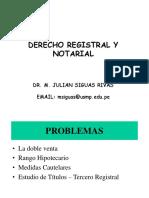 1. Clase Introductoria de Derecho Registral