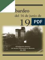 Bombardeo del 16 de Junio de 1955. Plaza de Mayo. Buenos Aires.