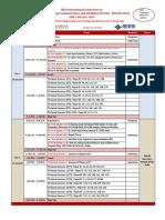 IEEE Conference Schedule-2019