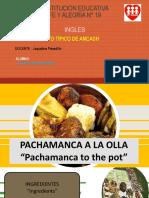 Pachamanca- Plato Tipico Ancash