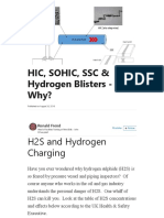 HIC Hydrogen Induced Cracking and sulfide_stress_cracking