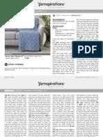 10175536 Alize EZ Diamond Lattice Blanket in Bernat Downloadable PDF 2