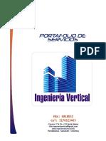 Formato Portafolio de Servicios 2019