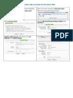 CSS - Configure and Setup Networks