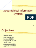 Application and Functions of GIS
