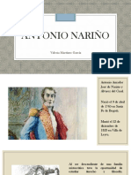 Unidad 4 Antonio Nariño - Valeria Martínez
