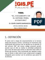 El Juzgamiento en El Sistema Penal Acusatorio (1)