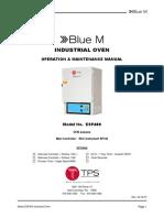 ESP400 Oven Manual 02-16-15