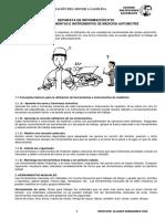 HOJAS DE INFORMACION mecanica automotriz