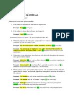 Common Errors in Writing 1