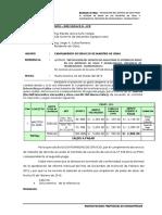 Informe Nº 013 Conformidad de Maestro de Obra