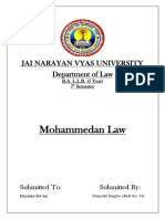 muslim law moot