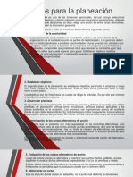 Pasos Para La Planeacion Diapositiva