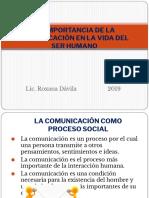 La Importancia de La Comunicación en La Vida
