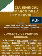 Exposicion Licencia Sindical 2014 Raul