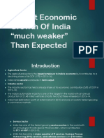 Recent financial problem in India