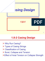 1.8 Casing Design1.9 Collapse, Tension