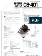 191026 Daiwa CD-401 Datasheet, Schematic