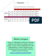 Scopus and Dblp and Q